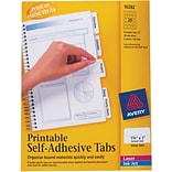 Avery® Printable Tabs