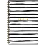 2017-2018 Blue Sky, Academic Ashley G Weekly/Monthly Planner, Black Stripe, 5 x 8