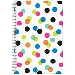 2017-2018 Blue Sky, Academic Ampersand, Weekly/Monthly Planner, Dots, 5 x 8