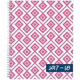 2017-2018 Blue Sky, Academic Dabney Lee, Weekly/Monthly Planner, Lucy, 8.5 x 11