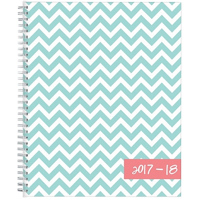 2017-2018 Blue Sky, Academic Dabney Lee, Weekly/Monthly Planner, Ollie, 8.5 x 11