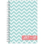 2017-2018 Blue Sky, Academic Dabney Lee, Weekly/Monthly Planner, Ollie, 5 x 8