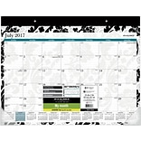 2017-2018 AT-A-GLANCE® Academic Madrid Monthly Desk Pad, 12 Months, 22 x 17