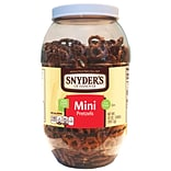 Snyders® Old Fashioned Mini Pretzel Canister; 32 oz