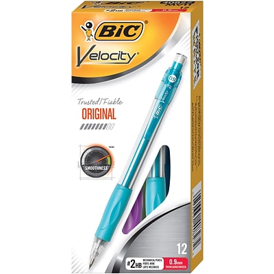 BIC Velocity Mechanical Pencils, No. 2 Hard Lead, 12/Pack (MV11)
