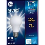 GE Reveal® 72 Watt Frost A19 Halogen (67774)