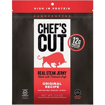 Chefs Cut Original Steak Jerky, 2.5 Oz., 1 Each