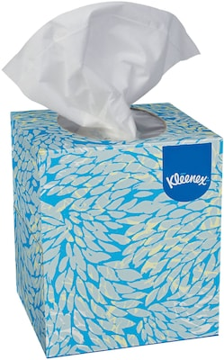 Kleenex® Boutique Facial Tissue, 2-Ply, 95 Sheets/Box, 6 Boxes/Pack