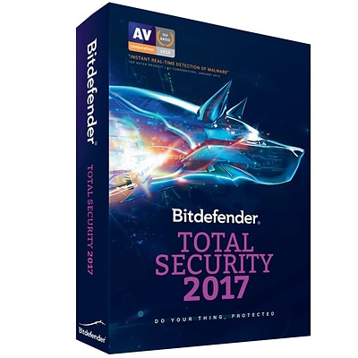 Bitdefender Total Security 2017 5 Users 3 Years for Windows/Mac (1-5 Users) [Download]