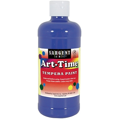 Sargent Art® Art-Time® 16 oz. Liquid Tempera Paints, Blue