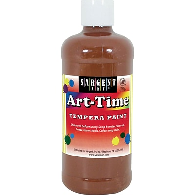 Sargent Art® Art-Time® 16 oz. Liquid Tempera Paints, Brown