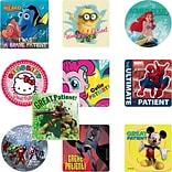 SmileMakers® Medical Licensed Character Sticker Sampler; Assorted Designs, 2-1/2 Stickers, 1,000 To