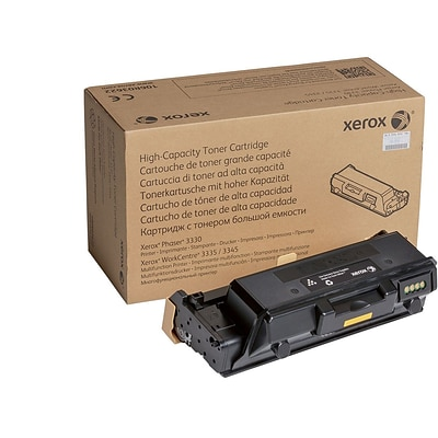Xerox 106R03622 Black Toner Cartridge, High Yield