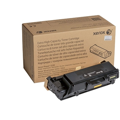 Xerox 106r03624 Toner, 15,000 Page Yield, Black, Extra High Yield