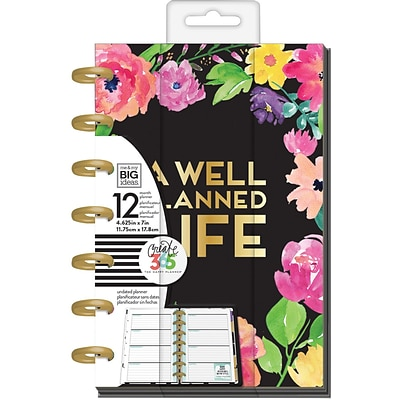 The Happy Planner 2017 Me & My Big Ideas Planner, 7 x 9.25 (PLNM-29)
