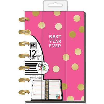 The Happy Planner 2017 Me & My Big Ideas Planner, 8.5 x 11 (PLNM-28)