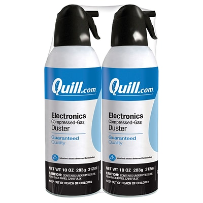 Quill Brand® Electronics Duster; 10 oz. Spray Can, 2-Pack