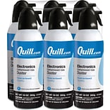 Quill Brand® Electronics Duster; 10 oz. Spray Can, 6-Pack