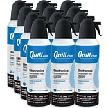 Quill Brand® Electronics Duster; 7 oz. Spray Can, 12-Pack