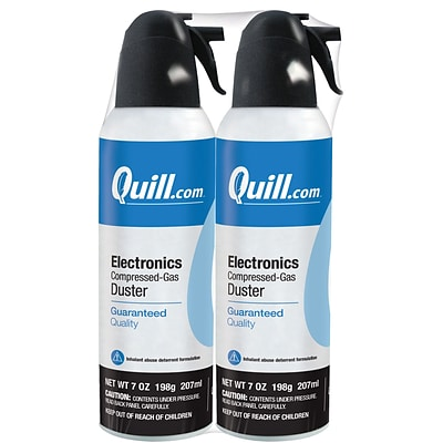 Quill Brand® Electronics Duster 7 oz., 2-Pack