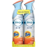 Febreze® AIR™ Freshener Spray, Tide, 8.8 oz., Twin Packs
