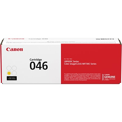 Canon 046 Standard Yellow Toner Cartridge (1247C001)