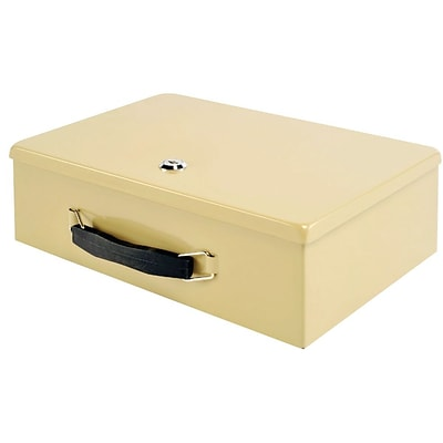 MMF Industries™ STEELMASTER® Fire Retardant Security Box, Sand