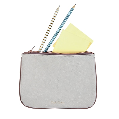 DwellStudio Small Accessories Pouch, Light Grey (45045)