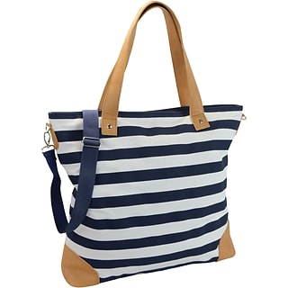 Striped Canvas Tote with $175 order
