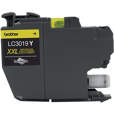 Brother LC3019Y Yellow Ink Cartridge, Super High Yield