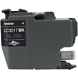 Brother Ink Cartridge, High Yield, Black (LC3017BK)
