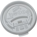 Dixie® Tear Back Plastic Hot Cup Lid Small, White, 1000/Carton (TB9538X)