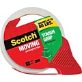 Scotch® Tough Grip Moving Packaging Tape, 1.88 x 38.2 yd., 1 Dispenser/Pack
