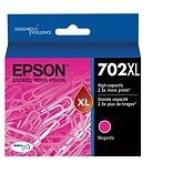 Epson 702 DURABrite Ultra Ink Cartridge, High Yield, Magenta Ink Cartridge (T702XL320)