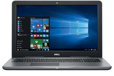 "Dell i5567-7291GRY 15.6"" Laptop Computer (Intel i7, 1TB HD, 16GB DDR4, Win 10, AMD Radeon™ R7 M445 Graphics)"
