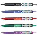 Pilot Precise V5 RT Deco Collection Rollerball Pen, Extra Fine Point, 0.5mm, Assorted Ink, 5/Pack (4