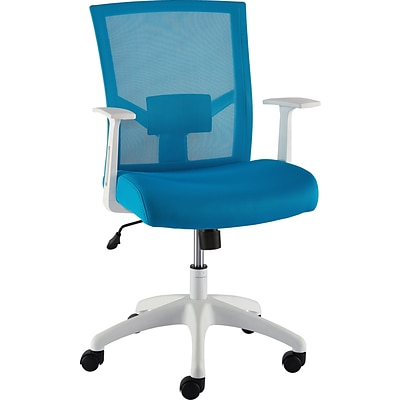 Quill Brand® Ardfield Mesh Task Chair, Blue