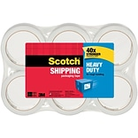 Scotch® Heavy-Duty Shipping Packing Tape; 1...