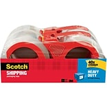 Scotch® 2W Packaging Tape w/Dispenser
