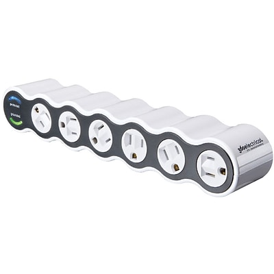 360 Electrical PowerCurve® 6 Rotating Outlets Surge Protector