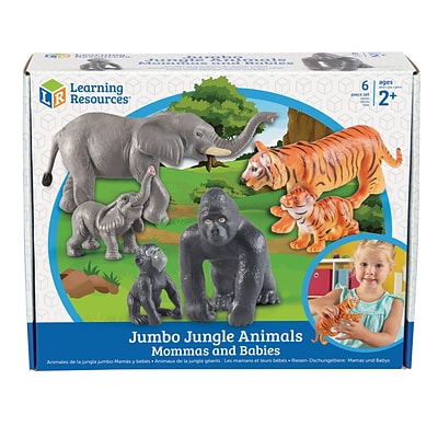 Jumbo Jungle Animals - Mommas and Babies