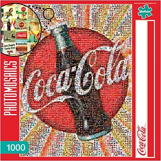 Coca-Cola Jigsaw Puzzle with $175 order