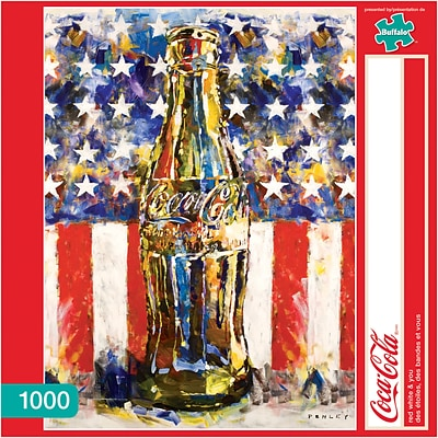 Coca-Cola® 1,000 pc Red, White and You Jigsaw Puzzle