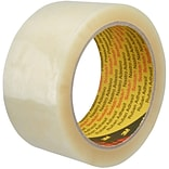 Scotch® Box Sealing Tape, 3 x 1000 yds., Clear, 4 Rolls/Case (371)