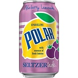 Polar® Blueberry Lemonade Seltzerade, 12 oz. Cans, 24/Pack