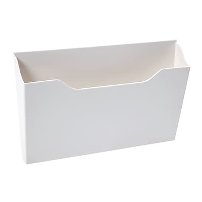 Martha Stewart Wall Manager® System Hanging File Sorter, White (50349)