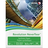 Xerox® Revolution™ Premium Never Tear™, 8-1/2 x 11, 100/Pack