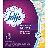 Puffs Cube Ultra Soft 2-Ply Facial Tissues, 56/Box