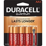 Duracell® Quantum AA Batteries; 8-Pack