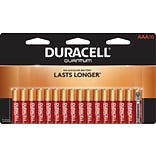 Duracell® Quantum AAA Batteries; 16-Pack